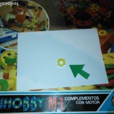 Juegos educativos: MULTIHOBBY M-1 FEBBER ESCOLAR - AÑOS 80 PIEZA PERTENECIENTE A LA CAJA - PIEZA MONTAJE TIPO MECANO. Lote 182908212