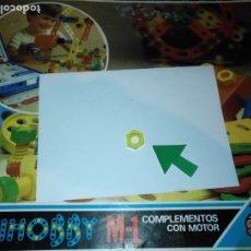 Juegos educativos: MULTIHOBBY M-1 FEBBER ESCOLAR - AÑOS 80 PIEZA PERTENECIENTE A LA CAJA - PIEZA MONTAJE TIPO MECANO. Lote 182908233