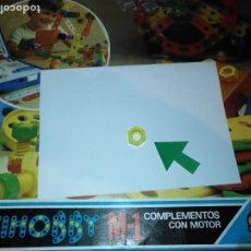 Juegos educativos: MULTIHOBBY M-1 FEBBER ESCOLAR - AÑOS 80 PIEZA PERTENECIENTE A LA CAJA - PIEZA MONTAJE TIPO MECANO. Lote 182908241