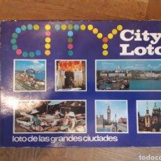 Juegos educativos: CITY LOTO EDUCA JUEGO DE MESA LOTO DE LAS GRANDES CIUDADES EN MANO EN MADRID. Lote 182993041