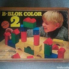 Juegos educativos: JUEGO B-BLOK COLOR 2 DE GOULA, AÑOS 60. EN MADERA. Lote 183048895