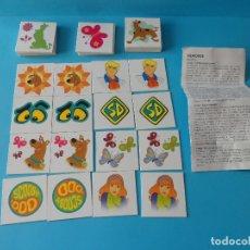 Juegos educativos: JUEGO DE CARTAS DE SCOOBY DOO. Lote 183200992