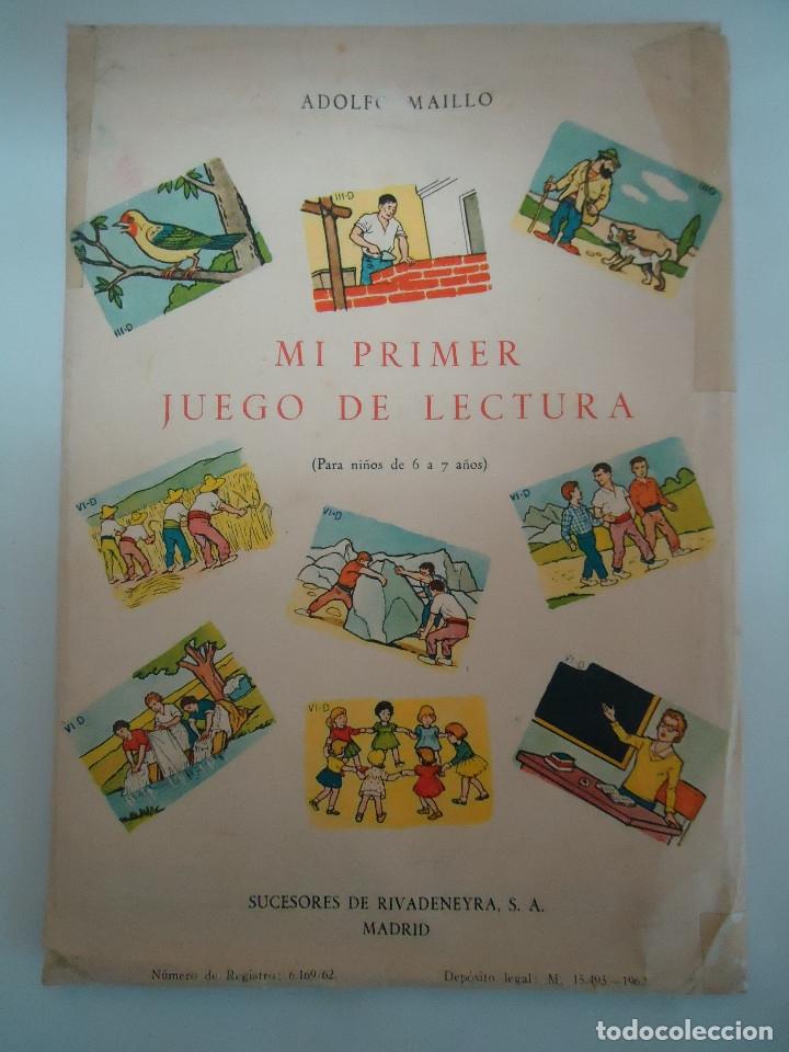 Mi Primer Juego De Lectura Para Niños De 6 A 7 Comprar Juegos Educativos Antiguos En Todocoleccion 183297332