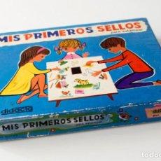 Juegos educativos: JUEGO MIS PRIMEROS SELLOS. PARA ESTAMPAR. DE DIDACTA, MADE IN SPAIN. REFERENCIA Nº 321. EN SU CAJA. Lote 183662907