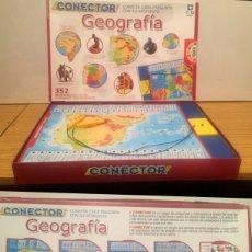 Juegos educativos: CONECTOR GEOGRAFÍA. Lote 184239998