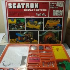 Juegos educativos: SCATRON CHISPAS Y MOTORES REF.221 EN CAJA ORIGINAL ESCASO. Lote 184482577