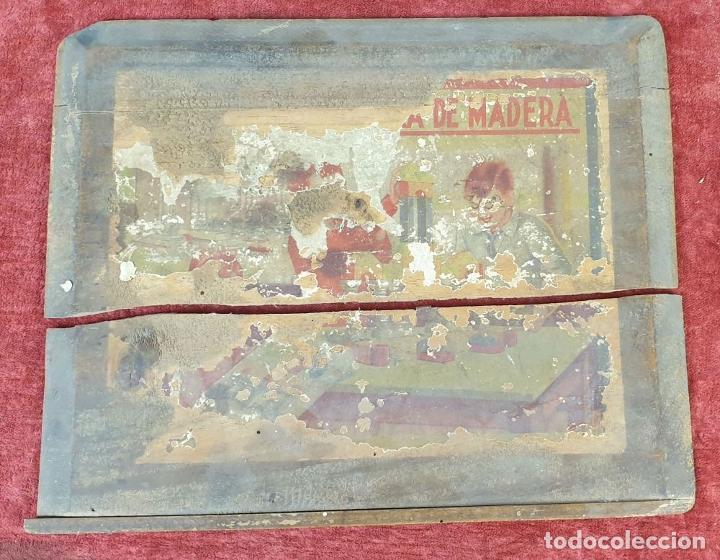 Juegos educativos: JUEGO DE ARQUITECTURA. PIEZAS COMPLETAS. MADERA. CAJA ORIGINAL. SIGLO XX. - Foto 5 - 184594393