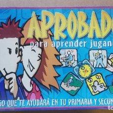 Juegos educativos: APROBADO_JUEGO EDUCATIVO- PARA APRENDER JUGANDO PARA PRIMARIA Y SECUNDARIA (E.S.O.). FALOMIR.. Lote 184871158