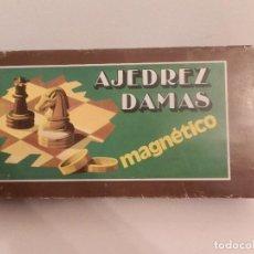 Juegos educativos: JUEGO MAGNÉTICO DE AJEDREZ Y DAMAS. REF 055. MADE IN SPAIN. A ESTRENAR.. Lote 185914725