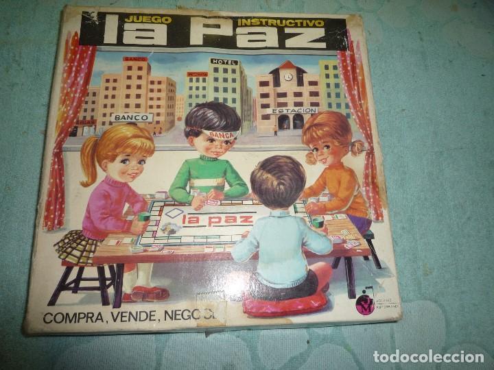 JUEGO INSTRUCTIVO LA PAZ (Juguetes - Juegos - Educativos)