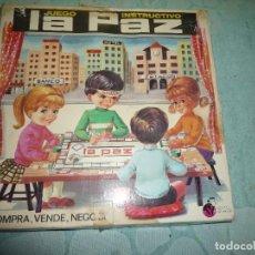 Juegos educativos: JUEGO INSTRUCTIVO LA PAZ. Lote 186248538