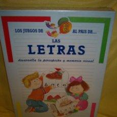 Juegos educativos: JUEGO LETRAS PRESCHOOL DE FALOMIR, AÑOS 90, NUEVO SIN ABRIR.. Lote 187484695