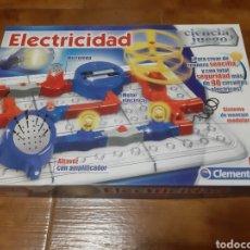 Juegos educativos: JUEGO ELECTRICIDAD CLEMENTONI (+8 AÑOS) CON ELEMENTOS MODULARES (55138.5). Lote 187529803