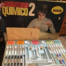Juegos educativos: LABORATORIO QUIMICO 2 CROCKER. MUY COMPLETO Y CONSERVADO. VER FOTOS. 36X47X7 CMS. . Lote 189104378
