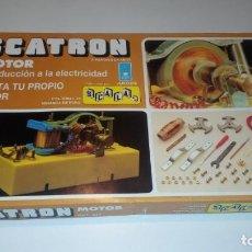 Juegos educativos: JUEGO SCATRON MOTOR JUGUETE EDUCATIVO REF.224.. Lote 189273446