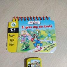 Juegos educativos: LIBRO INTERACTIVO + CARTUCHO PARA LEAPPAD. Lote 189311125