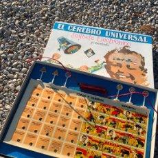 Juegos educativos: EL CEREBRO UNIVERSAL, JUGUETES EDUCATIVOS, BUEN ESTADO, TOROS, SOLDADOS, MONEDAS, AUTOMOVILES... . Lote 189487693