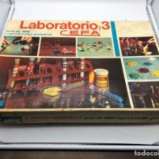 Juegos educativos: ANTIGUO JUEGO LABORATORIO 3 DE CEFA.. Lote 189619336