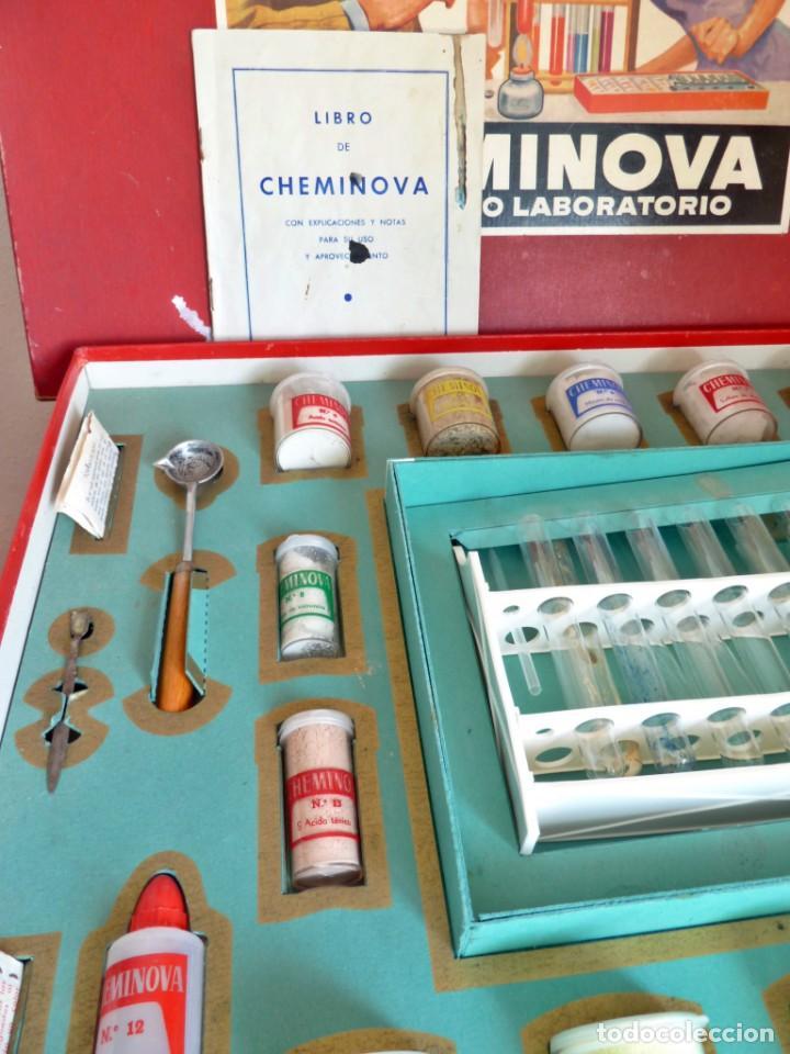 Juegos educativos: CHEMINOVA Nº 4 SIN USO, LA CAJA MAS GRANDE - Foto 6 - 190880667