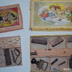 Juegos educativos: IMPRENTILLA INFANTIL SERIE A - IMPRENTILLA 121 - AÑOS 30-40 - IMPRENTA - JUGUETE - OPISSO. Lote 191133521