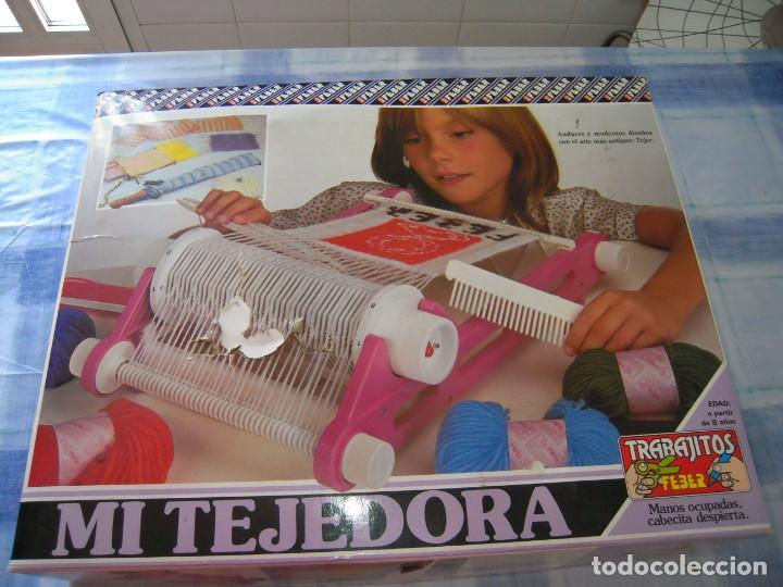 MI TEJEDORA DE FEBER (Juguetes - Juegos - Educativos)
