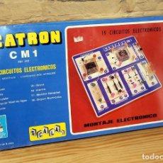 Juegos educativos: SCATRON CM1 - NUEVO Y PRECINTADO - SCALA - REF. 232 - 19 CIRCUITOS ELECTRONICOS -JUEGO ELECTRONICA. Lote 191361690