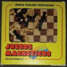 Jeux éducatifs: JUEGO MAGNETICO AJEDREZ COMPLETO JUGUETES MARIGO S.A COLECCIONABLES PARA VIAJES MOVIDOS. Lote 191397661