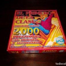 Juegos educativos: JUEGO EL PRIMERO DE LA CLASE.. Lote 191435935