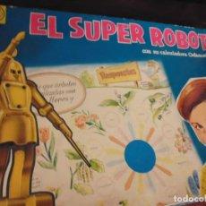 Juegos educativos: EL SUPER ROBOT, DE CEFA . AÑOS 60. 7 DOBLES LAMINAS DE PREGUNTAS.. Lote 191642021