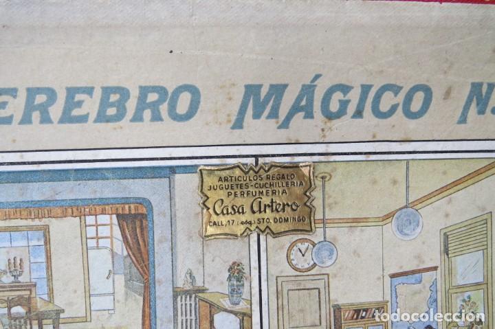 Juegos educativos: ANTIGUO JUEGO CEREBRO MAGICO Nº 3 - DICCIONARIO ELECTRICO CON LAS INSTRUCCIONES - Foto 3 - 192170486