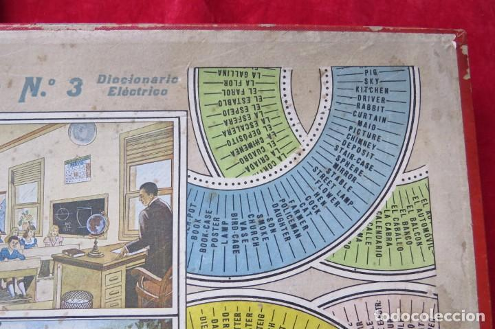 Juegos educativos: ANTIGUO JUEGO CEREBRO MAGICO Nº 3 - DICCIONARIO ELECTRICO CON LAS INSTRUCCIONES - Foto 4 - 192170486