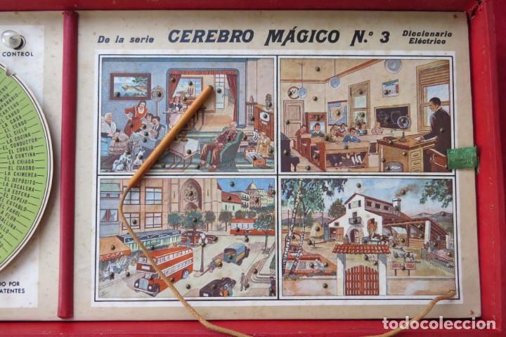 Juegos educativos: ANTIGUO JUEGO CEREBRO MAGICO Nº 3 - DICCIONARIO ELECTRICO CON LAS INSTRUCCIONES - Foto 10 - 192170486