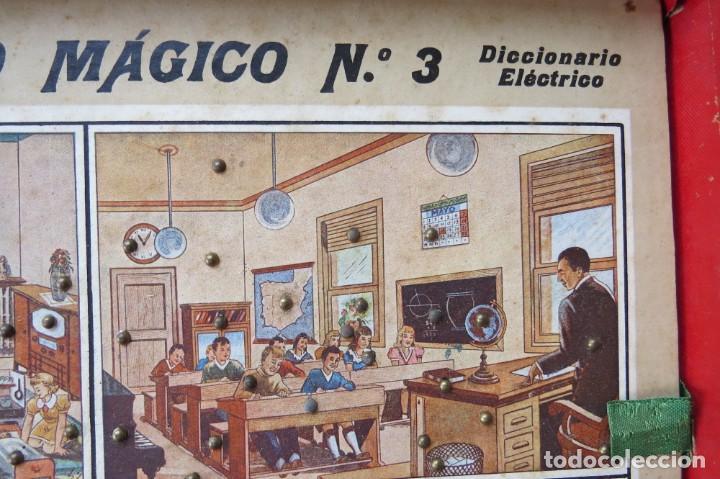 Juegos educativos: ANTIGUO JUEGO CEREBRO MAGICO Nº 3 - DICCIONARIO ELECTRICO CON LAS INSTRUCCIONES - Foto 11 - 192170486