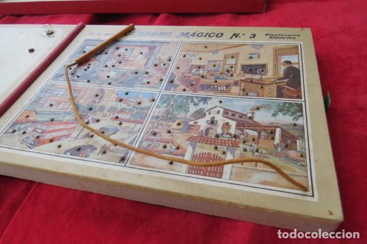Juegos educativos: ANTIGUO JUEGO CEREBRO MAGICO Nº 3 - DICCIONARIO ELECTRICO CON LAS INSTRUCCIONES - Foto 22 - 192170486