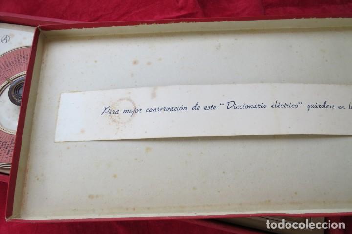 Juegos educativos: ANTIGUO JUEGO CEREBRO MAGICO Nº 3 - DICCIONARIO ELECTRICO CON LAS INSTRUCCIONES - Foto 40 - 192170486