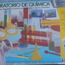 Juegos educativos: JUEGO LABORATORIO DE QUÍMICA. MUY COMPLETO. LIBRO DE EXPERIMENTOS DE QUÍMICA. CLEMENTONI. Lote 192861933