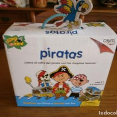 Juegos educativos: JUEGO PIRATAS - CAYRO - COMPLETO !!!. Lote 192868801