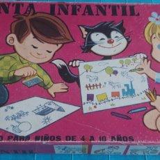 Juegos educativos: IMPRENTA IMPRENTILLA INFANTIL JUEGO TAMPÓN ALMOHADILLA.JUGUETES PIQUÉ. Lote 192869530