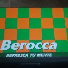 Juegos educativos: JUEGO VINTAGE DE AJEDREZ PLEGABLE O DE VIAJE.SIN ESTRENAR. BEROCA. Lote 192934437