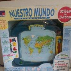 Juegos educativos: NUESTRO MUNDO INTERACTIVO / ...... NUEVO / LEER DESCRIPCCION.. Lote 193079642