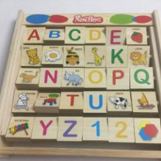 Juegos educativos: PUZZLE DE MADERA MARCA JUGUETTOS, SIN ESTRENAR . Lote 193086675