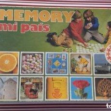 Juegos educativos: JUEGOS-MEMORY -MI PAÍS.-EDUCA- NO COMPLETO. Lote 193090800