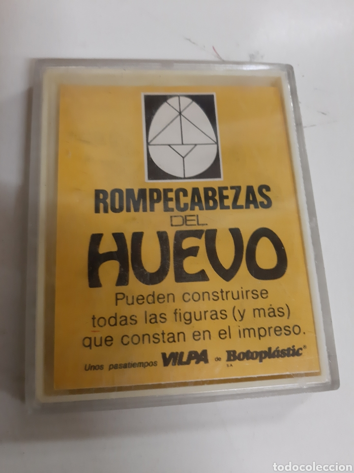ROMPECABEZAS DEL HUEVO VILPA BOTOPLASTIC (Juguetes - Juegos - Educativos)
