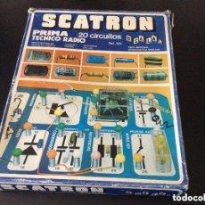 Juegos educativos: SCATRON - PRIMA - TÉCNICO DE RADIO - AÑOS 80 -IDEAL COLECCIONISTAS . Lote 193180283