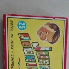 Juegos educativos: JUEGOS REUNIDOS GEYPER,ORIGINALES 1964 COMPLETO. Lote 193256495
