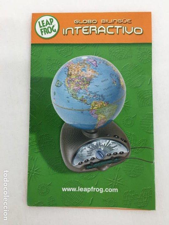 Juegos educativos: GLOBO TERRAQUEO INTERACTIVO LEAP FROG - DONDE APRENDER ES UN JUEGO - CON INSTRUCCIONES - Foto 17 - 220659862