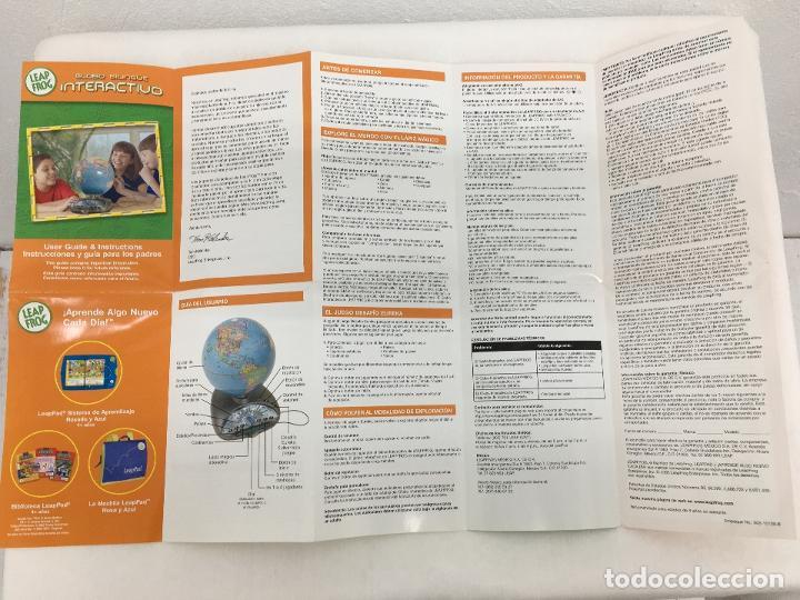 Juegos educativos: GLOBO TERRAQUEO INTERACTIVO LEAP FROG - DONDE APRENDER ES UN JUEGO - CON INSTRUCCIONES - Foto 19 - 220659862