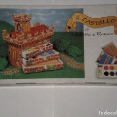 Juegos educativos: JUEGO DE CONSTRUCCION EL CASTILLO DE ROMEO Y JULIETA , DISTRIBUIDO POR FACTIS S.A ESPAÑA , AÑOS 90. Lote 193377333