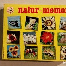 Juegos educativos: JUEGO NATUR MEMORY JUEGOS EDUCA AÑOS 70. Lote 193415347