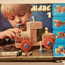 Juegos educativos: ANTIGUO JUEGO DE MESA DE MADERA DIDAC 1. Lote 193415876